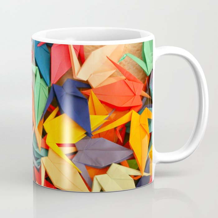 Senbazuru rainbow Coffee Mug