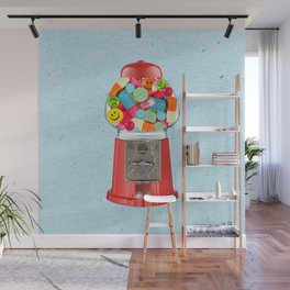 crazy candy Wall Mural