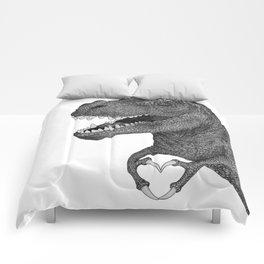 Dino Love Comforters
