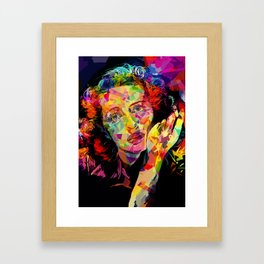 Bette Framed Art Print