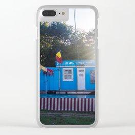 Campground Circus Fun Clear iPhone Case