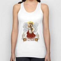 virgo Tank Tops featuring Virgo by Michele Phillips