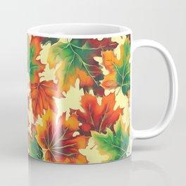 Autumn maple leaves I Coffee Mug