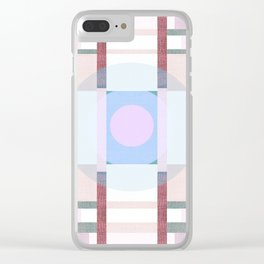 Deco 7 Clear iPhone Case