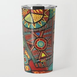 Shaman Dance: Day and Night Travel Mug