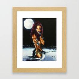 Lady Dragons 1 Framed Art Print