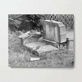 Old Grave Metal Print