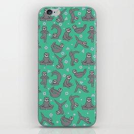 Sloth Yoga iPhone Skin