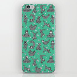 Sloth Yoga iPhone Skin