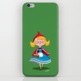 Lil Red iPhone Skin