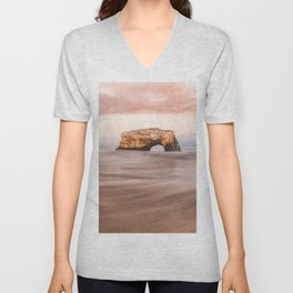 Santa Cruz, CA - Natural Bridges State Park Unisex V-Neck