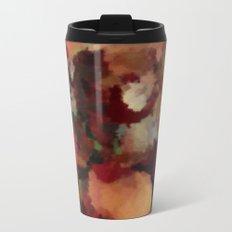 Autumn Mosaics Watercolor 2484 Metal Travel Mug