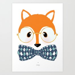My Little Fox Art Print