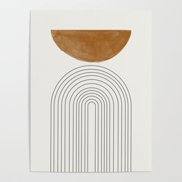 Minimalist Space Poster