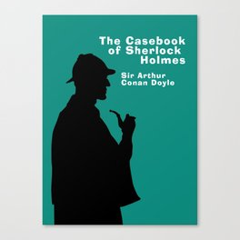 The Casebook of Sherlock Holmes Canvas Print