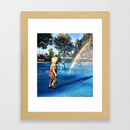 My Bub Framed Art Print