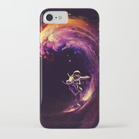 motivational iPhone & iPod Cases featuring Space Surfing by nicebleed