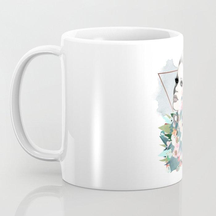 Flower Wall Coffee Mug