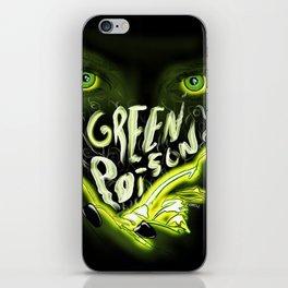 Green Poison iPhone Skin