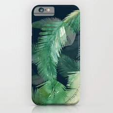 Tropical Leaves at Night Slim Case iPhone 6s