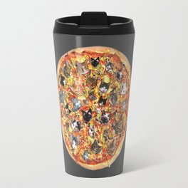 If the internet was a pizza... Travel Mug