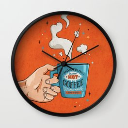 What Bliss Wall Clock