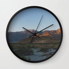 Mt San Jacinto - Pacific Crest Trail, California Wall Clock