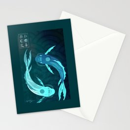 Original Bending Masters Series: Tui and La Stationery Cards