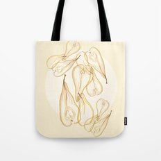 pear fruits by carographic Tote Bag