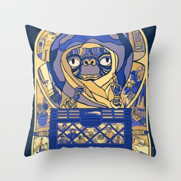 E.T PHONE HOME POSTER Throw Pillow