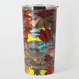 Harmonic Flowers Travel Mug
