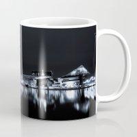 baltimore Mugs featuring Baltimore Nights... by Jon Bilous