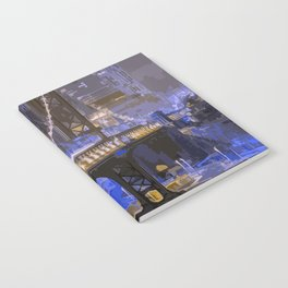 Lights of New York City Notebook