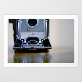 Polaroid Land Art Print