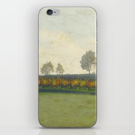 Autumn paints its colors bright iPhone Skin