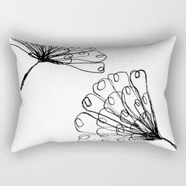 ginko biloba leaves Rectangular Pillow