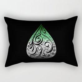 Aromantic Pride Drop Rectangular Pillow