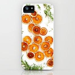 Pure Citrus (Color) iPhone Case