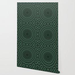 Green ornament Wallpaper