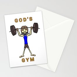 GOD's Gym Stationery Cards