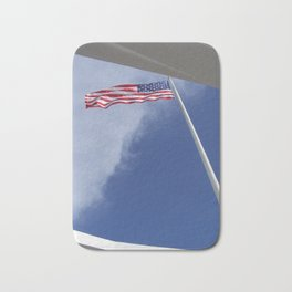 Flag at U.S.S. Arizona Bath Mat