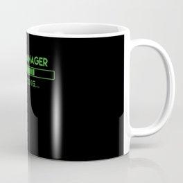 Sales Manager Loading Coffee Mug