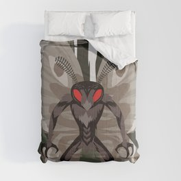 insect moth man monter creepy creature Comforters