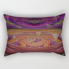 Alchemy New Age Mixed Media Rectangular Pillow