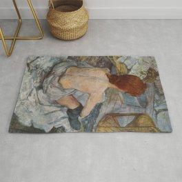 Henri De Toulouse Lautrec Rousse Rug
