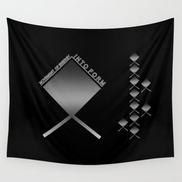 MOVEMENT OF ENERGY INTO FORM Wall Tapestry