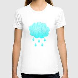 Cloud and randrops T-shirt