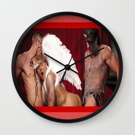 young pence/little angel Wall Clock