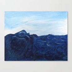 Sea Swell. Canvas Print