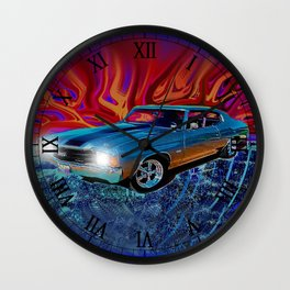 72 Chevy Chevelle SS Wall Clock